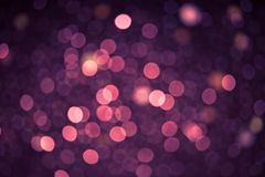 Defocused lights background Stock Photos