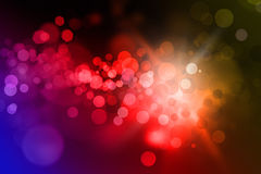 Defocused lights background Stock Image
