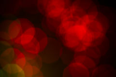 Defocused lights bokeh abstract background. Royalty Free Stock Images