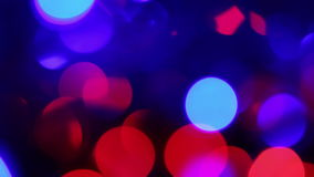 Defocused lights stock video