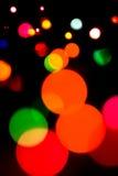 Defocused lights Royalty Free Stock Photos