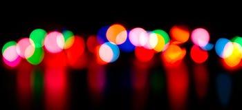 Defocused lights Royalty Free Stock Image