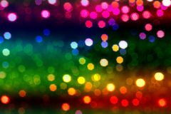 Defocused lights Royalty Free Stock Photos