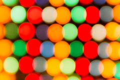Defocused lights, colorful circles abstraction Royalty Free Stock Images