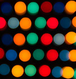 Defocused lights, colorful circles abstraction Stock Photo
