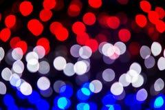 Defocused lights effect Royalty Free Stock Image