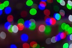 Defocused lights effect Royalty Free Stock Photos