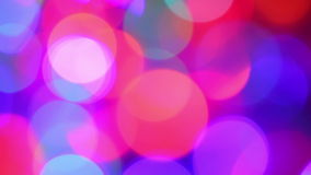 Defocused lights, motion background Royalty Free Stock Photography