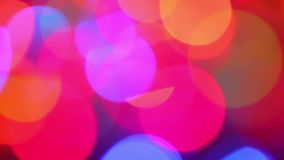 Defocused lights, motion background Royalty Free Stock Photos