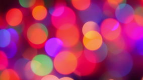 Defocused lights, motion background stock video