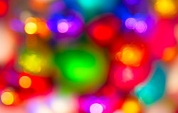 Defocused ligths Stock Photography
