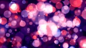 Defocused Magenta Lights Background Royalty Free Stock Images