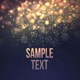 Defocused magic star background. Vector. Illustration EPS10 Royalty Free Stock Photo