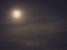 Defocused moon background Royalty Free Stock Photo