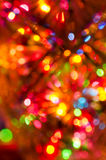 Defocused  multicolored bokeh lights background Royalty Free Stock Images
