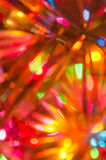 Defocused  multicolored bokeh lights background Stock Photo