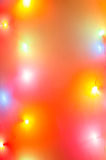 Defocused  multicolored bokeh lights background Stock Images