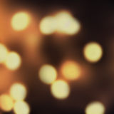 Defocused Night Vintage shiny lights Christmas Bokeh background Royalty Free Stock Photo