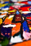 Defocused Oilify. Abstract oil painting background Stock Images