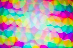 Defocused blurred abstract light background stock image