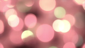 Defocused pastel lights with bokeh, motion background Royalty Free Stock Photos