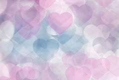 Defocused pink lights royalty free stock photography