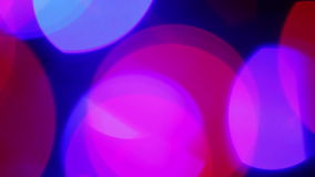 Defocused pink lights, motion background Stock Photo