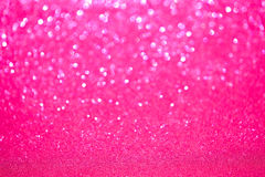 Defocused Pink Sparkles Stock Photo