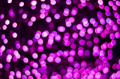Defocused purple lights background. Photo Royalty Free Stock Images