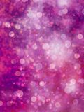 Defocused purple lights. glitter. EPS 10 Royalty Free Stock Images