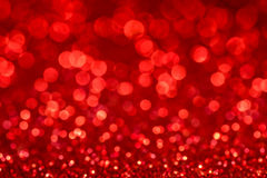 Defocused red background. Abstract defocused red background for christmass cards Stock Photography