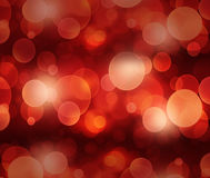 Defocused red light dots against background Royalty Free Stock Images