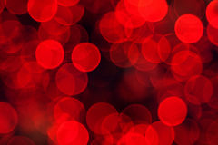 Defocused Red Lights Background Royalty Free Stock Photo