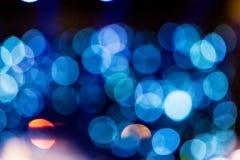 Defocused rozrywka koncerta oświetlenie na scenie, bokeh zdjęcia stock