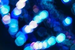 Defocused rozrywka koncerta oświetlenie na scenie zdjęcie stock