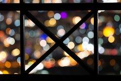 Defocused stads- abstrakt texturbakgrund Fotografering för Bildbyråer