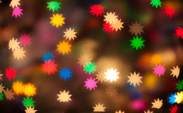 Defocused stars Royalty Free Stock Photography