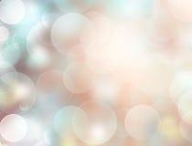 Defocused suddig bakgrund för mjukt ljus stock illustrationer