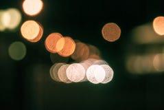 Defocused traffic lights Stock Photos