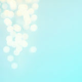 Defocused  twinkling lights Christmas Bokeh background. Christma Royalty Free Stock Image
