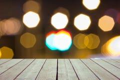 Defocused und Unschärfebild der Terrasse Stockfotografie