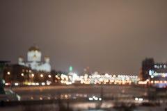 Defocused urban landscape royalty free stock photos