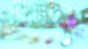 Defocused various sparkling beautiful jewelry stock video footage