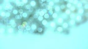 Defocused various sparkling beautiful jewelry stock footage