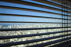 Venetian Blinds TLV Royalty Free Stock Photo