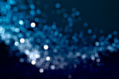 Defocused Wave Of Lights Stock Photography