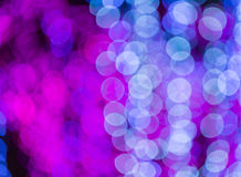 Defocused white and pink circle light background Royalty Free Stock Photography