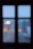 Defocused window Royalty Free Stock Photos