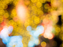 Defocused wizerunek bożonarodzeniowe światła Obraz Royalty Free