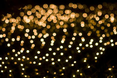 Free Defocused Yellow Light Dots Stock Photos - 13869813